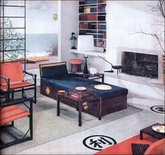 1957 Japan-Inspired Armstrong Living Room