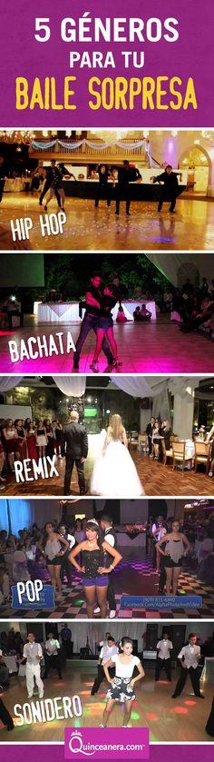 ¿Aún no eliges la canción para tu baile sorpresa? ¿Qué tal los siguientes éxitos? Tus invitados seguro se ponen a bailar...
