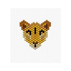 "99 Likes, 5 Comments - Charlotte Souchet (@charlottesouchet) on Instagram: ""La lionne comme un air du roi lion par ici #miyuki #perlesmiyuki #miyukidelica #miyukibeads…"""