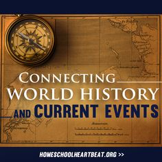 Are you wondering how to teach your children about current events? Well, a great place to start is by studying world history. This week on Home School Heartbeat, Dr. David Aikman explains how history is often connected to today's headlines, and shares some great ways to start exploring the past.