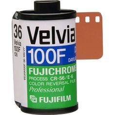 Fujifilm RVP 135-36 Fujichrome Velvia 100-F Professional Color Slide