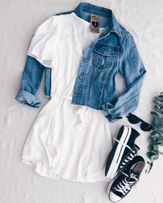 Casual Outfit Ideas for Teens – Casual Outfits for Daytime -Awesomelifestylefashion Casual outfit is must in this crazy summer . Cute Comfy Outfits, Girly Outfits, Cute Summer Outfits, Mode Outfits, Simple Outfits, Pretty Outfits, Stylish Outfits, Dress Outfits, Girls Fashion Clothes