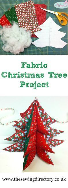 Sew a fabric Christmas tree with this great free tutorial                                                                                                                                                     More