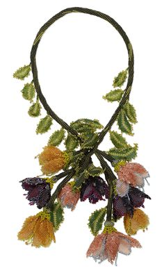 Jewelry Design - Lariat-Style Necklace with Seed Beads - Fire Mountain Gems and Beads
