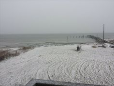 Snow again in Hatteras today | OBX Connection /2/11/14/Message Board/ Soundside in Rodanthe