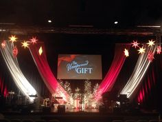 Colors and Gifts from Calvary Chapel of Delaware County inChadds Ford, PA | Church Stage Design Ideas