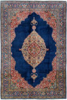 Schuler Auktionen Zürich     Täbris NW-Iran, um 1910 244x358 cm (ft. 8.1x11.8).
