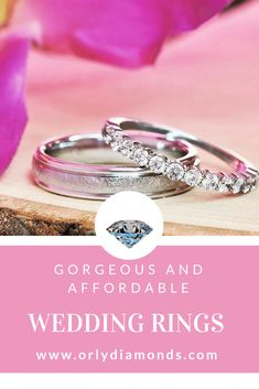 His and hers diamond wedding bands at Orly Diamonds Cool Wedding Rings, Diamond Wedding Rings, Diamond Bands, Wedding Bands, Diamonds, Engagement Rings, Jewelry, Enagement Rings, Wedding Rings