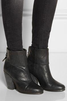 Rag & bone|Classic Newbury leather ankle boots|NET-A-PORTER.COM