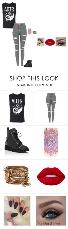 Untitled #208 by sing-into-life on Polyvore featuring Topshop, ALDO and Lime Crime