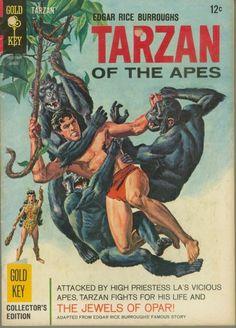 Tarzan of the Apes. Gold Key