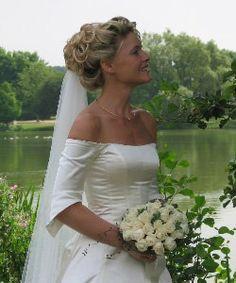 Brudehår i knold