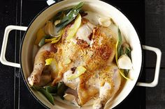 Jamie Oliver's Chicken in Milk recipe: One-pot and makes it's own sauce. #food52