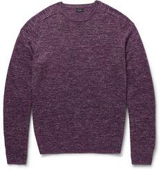 J.Crew Babylon Melange-Knit Sweater | MR PORTER