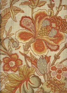 Inglewood Pumpkin - www.BeautifulFabric.com - upholstery/drapery fabric - decorator/designer fabric