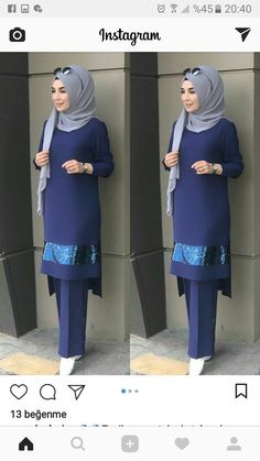 PINNED BY @MUSKAJAHAN - CHIC HIJAB OOTD - #chic #hijab #MUSKAJAHAN #OOTD #PINNED Ootd Chic, Hijab Chic, Stylish Hijab, Hijab Style Dress, Casual Hijab Outfit, Abaya Fashion, Fashion Outfits, Abaya Mode, Moslem Fashion