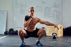 Here's your new go-to kettlebell workout that'll help you torch fat, tone muscle, build strength and gain mobility in areas you might be neglecting. Kettlebell Benefits, Kettlebell Circuit, Kettlebell Training, Types Of Cardio, What Is Hiit, Weight Lifting Workouts, Leg Workouts, Extreme Workouts, Work Outs