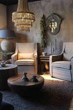 42 Belgian Farmhouse Style For Living Room Design - Possible Decor Home Interior, Interior Decorating, Interior Design, Living Room Designs, Living Spaces, Vibeke Design, Rustic Interiors, Cabana, Home And Living