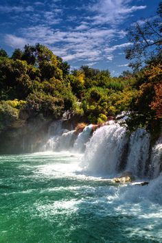 Waterfalls Krka National Park, Croatia