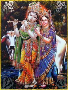 ✨ RADHA KRISHNA ✨ Artist: Nirmala Hare Krishna Hare Krishna Krishna Krishna Hare…