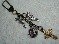 The BOONDOCK SAINTS Inspired Purse Charm / by MagikalMommy on Etsy, $10.00