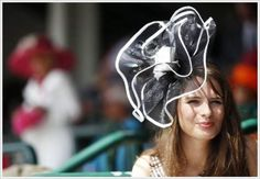 Crazy Women Hats At The Kentucky Derby Festival