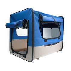 WPS Deluxe Pet Carrier  Features a Spacious Interior a Cozy Removable Rug and 4 Privacy Rollup Shades on Mesh Panels for Ultimate Privacy  19x 135x 13 * Want to know more, click on the image.(This is an Amazon affiliate link and I receive a commission for the sales)