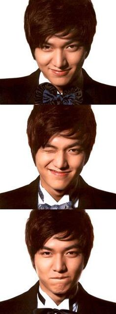 Lee Min Ho Photobooth-- I've always thought he was more adorable than hot.  But that's just me.