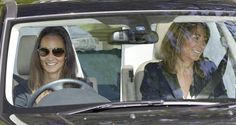 Carole Middleton Photos - Pippa Middleton (Kate's sister) and mother Carole leave the family home in Bucklebury, Berkshire, to prepare for…