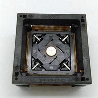 QFP176 TQFP176 LQFP176 Burn in Socket Pitch 0.5mm IC Body Size 24x24mm OTQ-176-0.5-06 Test Socket Adapter
