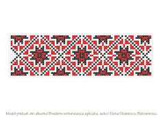 ornamente traditionale moldovenesti ile ilgili görsel sonucu Types Of Embroidery, Cross Stitch Embroidery, Cross Stitch Patterns, Palestinian Embroidery, Tattoo Bracelet, Bohemian Pattern, Paper Butterflies, Bargello, Bead Weaving
