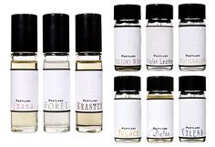 OLO Fragrance. I want all of them, but ESPECIALLY Lightning Paw and Violet/Leather.