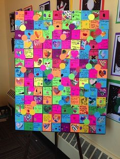 Art makes me feel... (quilt) students and parents of Piedmont Community Charter School: A Challenge Foundation Academy