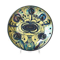 72. BIRGER KAIPIAINEN, fat, Arabia, Finland. Ceramic Painting, Pottery Vase, Byzantine, Metallica, Finland, Vases, Auction, Retro, Design