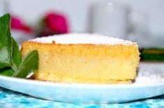Brazilian recipe-Coconut-Cornmeal Cake (Bolo de Fubá com Coco). Sweets Recipes, Desserts, Dessert Dishes, Vegetarian Cheese, Make It Simple, Delish, Sweet Tooth, Coconut, Favorite Recipes