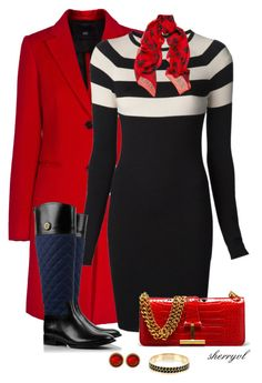 """""""Riding Boots Contest"""" by sherryvl ❤ liked on Polyvore featuring Steffen Schraut, T By Alexander Wang, Tory Burch, Lucky Brand, Ted Baker and Alexander McQueen"""
