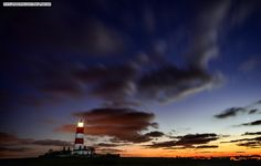 Happisburgh lighthouse in Norfolk Norfolk Coast, Jurassic Coast, Down South, Photography Photos, East Coast, Northern Lights, Sunrise, Around The Worlds, Explore
