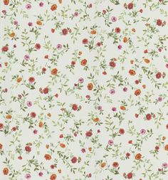Floral Wallpaper bed breakfast cream jacobean stencil wallpaper | cream, beds and