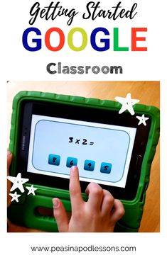 Let's talk Google Classroom! This tutorial teaches you how to use Google Slides, what you can do with it, and how to easily set it up.  You can also set up a Google Classroom account from your personal gmail just to explore. My introduction will walk you through it step-by-step! 5th Grade Classroom, Teaching First Grade, Flipped Classroom, Classroom Crafts, Primary Classroom, Kindergarten Teachers, Google Classroom, Classroom Ideas, Upper Elementary Resources