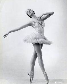Christine Bering as Queen of the Snow in Lew Christensen's Nutcracker, SF Ballet, 1956; Image courtesy Museum of Performance & Design