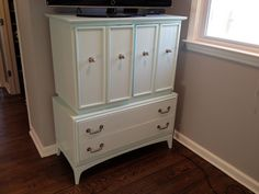 Painted furniture, armoire makeover.