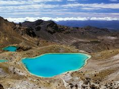 Tongariro National Park on New Zealand's North Island has earned two UNESCO World Heritage designations and is also the oldest national park in the country. Within the park lies the Tongariro Alpine Crossing, a 12-mile hiking route that takes you past the Emerald Lakes of Mt. Tongariro. The gorgeous green lakes get their color from the dissolved volcanic minerals in the water. —Lauren KilbergRead more: The Most Beautifully Colored Bodies of Water