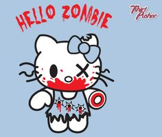 Hello Zombie Cute Zombies T-shirt