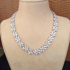 Vintage Diamond Necklace ~ Shreve, Crump & Low ~ http://www.ShreveCrumpandLow.com/