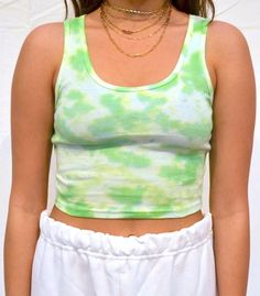 Cute Lazy Outfits, Cool Outfits, Fashion Outfits, Tie Dye Shirts, Tie Dye Tank Tops, Tie Dye Crop Top, Tie Dye Fashion, Tie Dye Outfits, How To Tie Dye