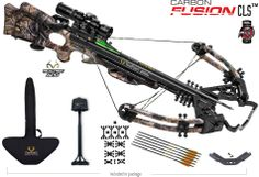 Carbon Fusion CLS crossbow #TenPoint #Crossbows #Archery