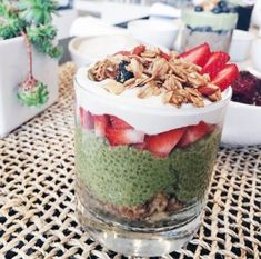 This matcha chia pudding recipe is what a.m. dreams are made of