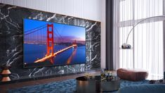 """75"""" large screen home theatre system - Google Search Home Theater, Theatre, Flat Screen, Tv, Google Search, Furniture, Houses, Home Theatre, Blood Plasma"""