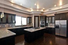 Love this kitchen, except the floor.