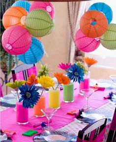 neon party ideas | Photo courtesy of Michelle Burt/Maddycakes Muse at iVillage